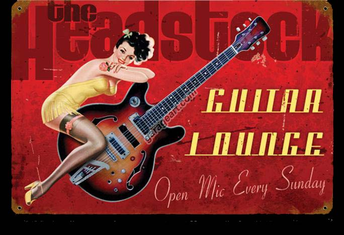 pinup girl guitar
